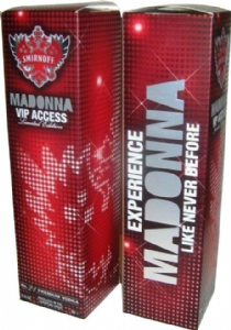 MDNA TOUR - VIP ONLY LIMITED EDITION SMIRNOFF BOX